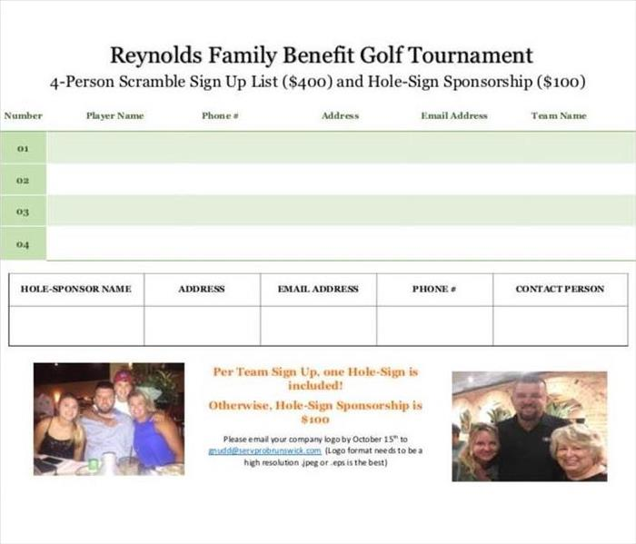 Community Reynolds Family Benefit Golf Tournament