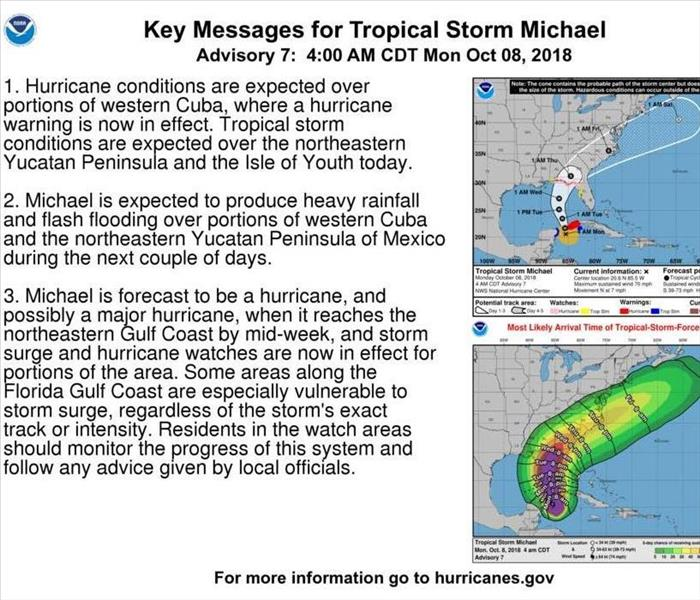 Storm Damage Tropical Storm Michael - What to Know
